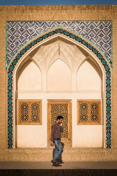 Kashan, Agha Bozorg Mosque.