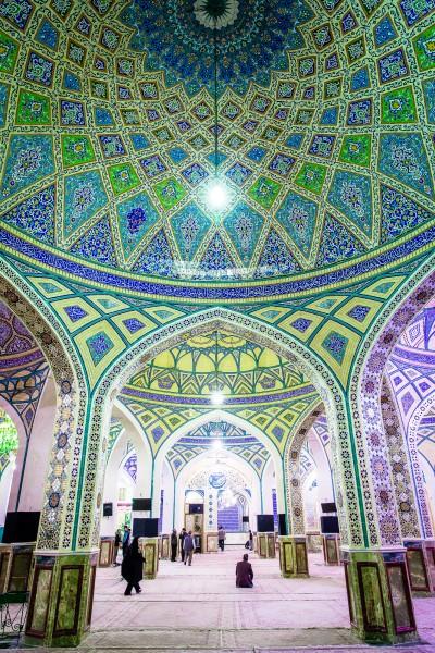 Pārsteidzošais krāšņums mošejās. Aran, Blue Mosque.