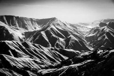 Alborza kalnu šarms. Dizin.