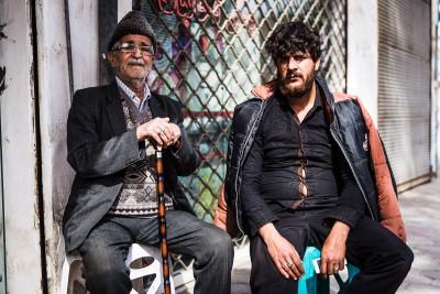 Tēvs un dēls. Kashan.
