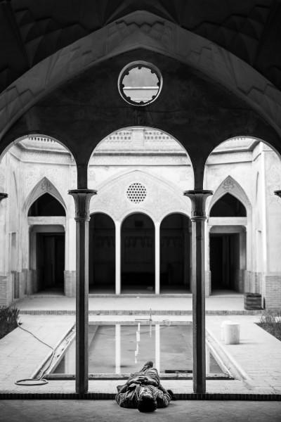Brīdis atpūtai. Kashan, Abbassi house.