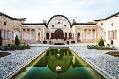 Kashan, Tabatabaei House.