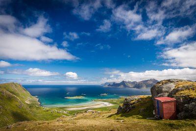 Nereāli reālais pasaku zemē. Norvēģija, Lofotu salas.