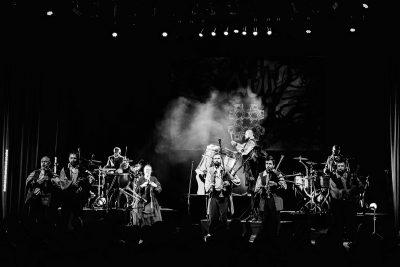 Grupa Auļi koncerts Gadalokos. Cēsu koncertzāle, 2016.