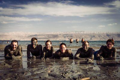 Check-list punkts par iemālēšanos izpildīts. Izraēla, Nāves jūra.