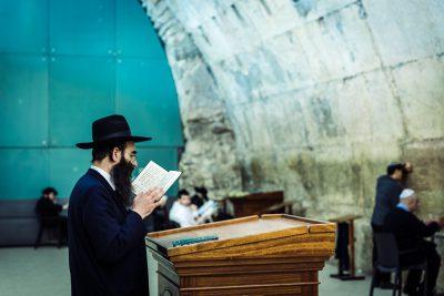 Ebrejs un svētie raksti. Izraēla, Jeruzaleme.
