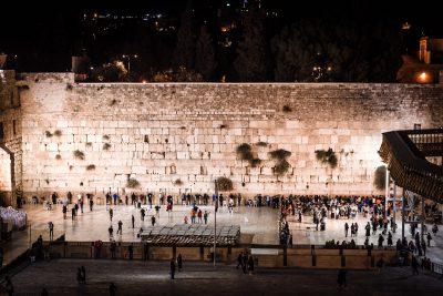 Raudu mūris jeb Rietumu mūris. Izraēla, Jeruzaleme.