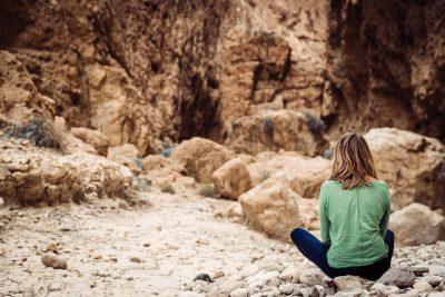 Nu tas ir paveikts, mirklis atmiņām. Izraēla, Wadi Darga.