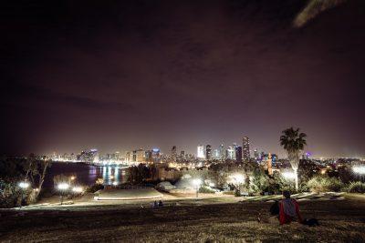 Mieriņā. Izraēla, Tel Aviv.