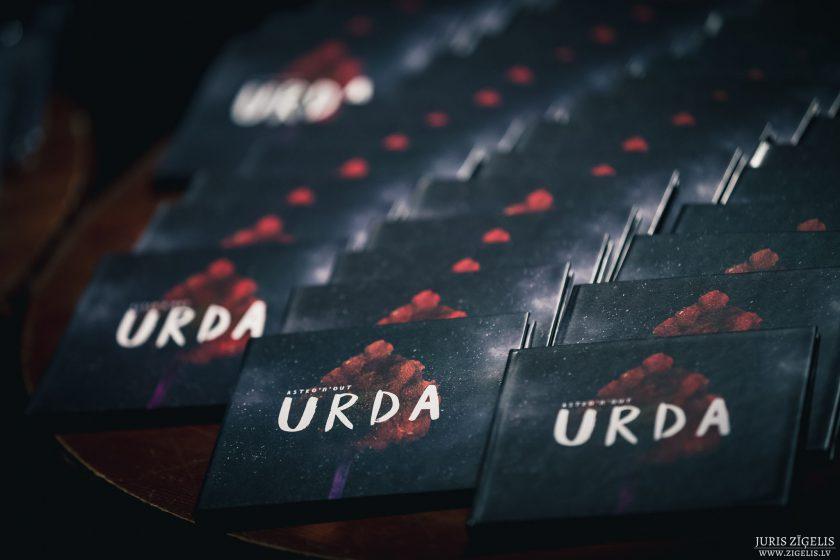 Astro'n'Out – URDA | Albuma atklāšana